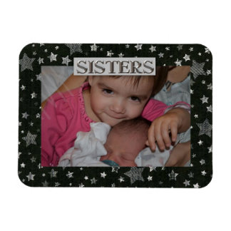 Stars Sister  Photo Premium Magnet