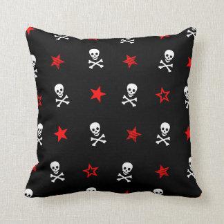 Stars, Skulls and Crossbones Cushion