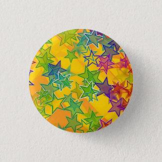 Stars Small, 1¼ Inch Round Button