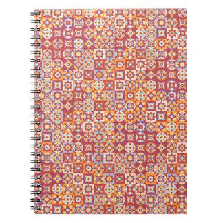 Stars Spiral Notebook