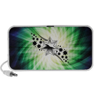 Stars Starry Design iPod Speakers