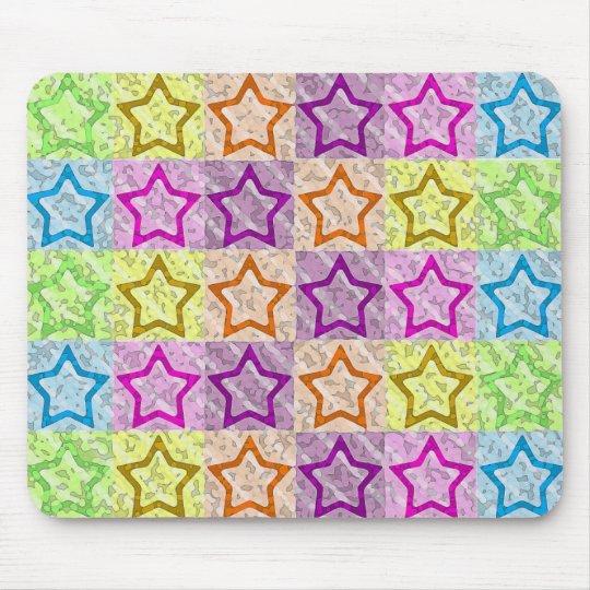 Stars, Stars & More Stars! Mouse Mat