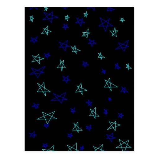 Stars & stars & more stars! postcard