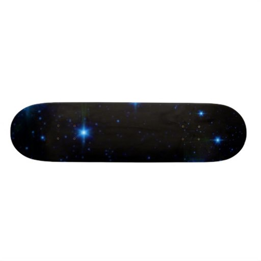 stars, stars skate deck