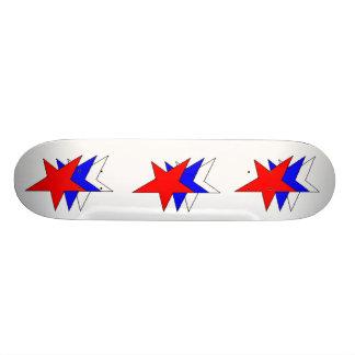 stars stars stars skate board