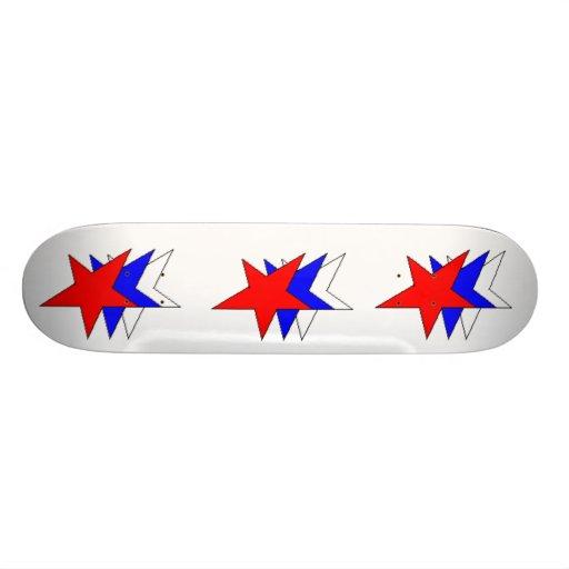 stars, stars, stars skate board