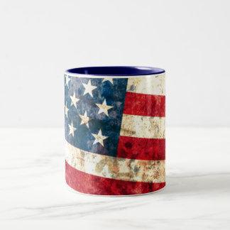 Stars & Stripes #2 - 11 oz Two-Tone Mug