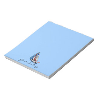 Stars Stripes and Sails Notepads