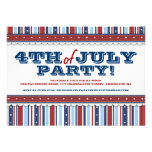 Stars & Stripes Festive 4th of July Party Invites