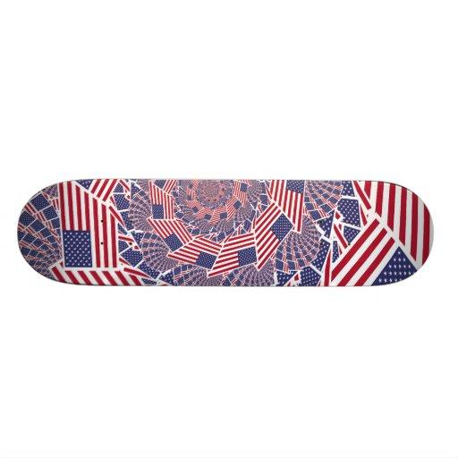 Stars & Stripes Forever Skate Board Decks
