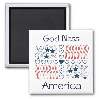 Stars Stripes Hearts Magnet