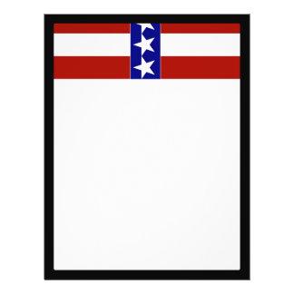 Stars & Stripes of Red White And Blue Custom Flyer