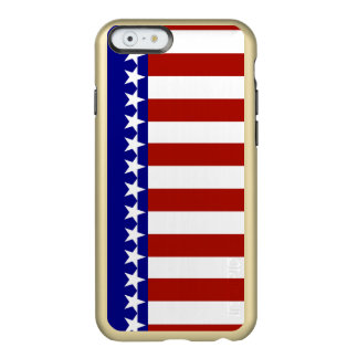 Stars & Stripes of Red White And Blue Incipio Feather® Shine iPhone 6 Case