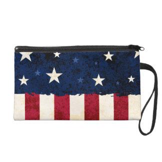 Stars & Stripes Patriotic Wristlet Clutches