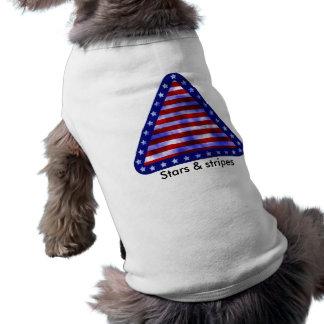 Stars & Stripes Sleeveless Dog Shirt