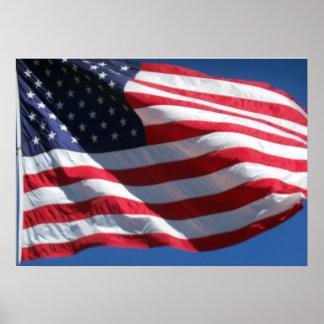 Stars & Stripes United States American Flag US Poster