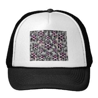 Stars studded in Black Mosaic Trucker Hats