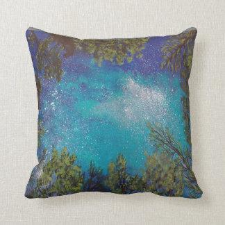 Stars through the trees -  pillow