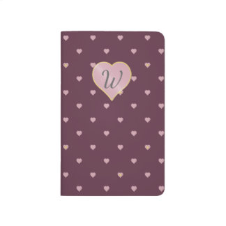 Stars Within Hearts on Port Pocket Journal
