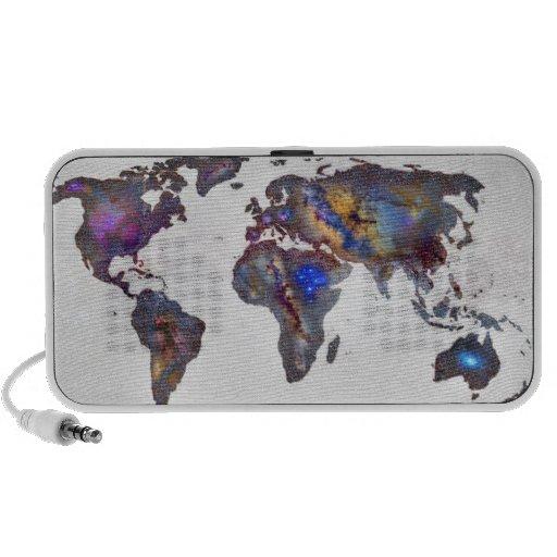Stars world map iPhone speaker