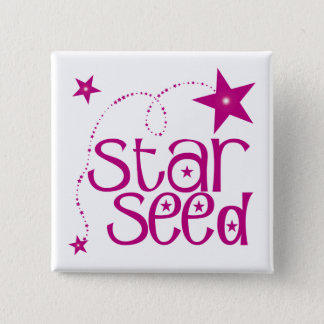 Starseed 15 Cm Square Badge