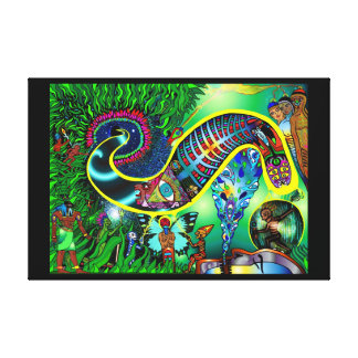 StarSeed Awakening, a purging of corruption.... Canvas Prints