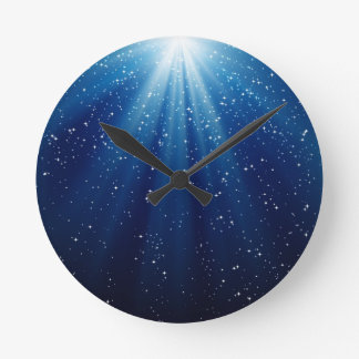 Starshine Round Clock