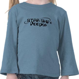 Starship Pooper Tees