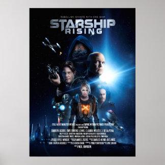 Starship: Rising customizable movie poster
