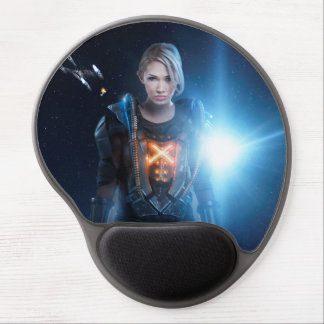 Starship Rising Mouse Gel pad Gel Mouse Pad