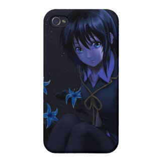 Starstruck Anime GIrl iPhone 4 Cover