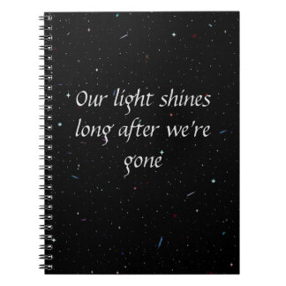 Starstruck Light Notebook