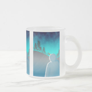 Starstruck Frosted Glass Mug