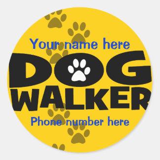Start a dog walking business sticker