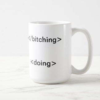 Start Doing! Basic White Mug
