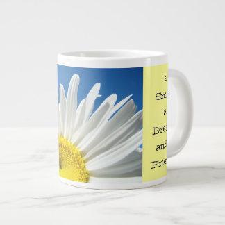 Start Each Day Mug Smile Dream & a Friend Jumbo Mug