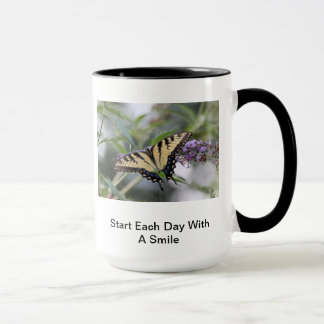 Start Each Day With A Smile Coffe Mug
