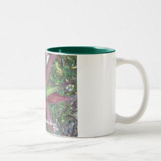 Start fresh every day! Two-Tone mug