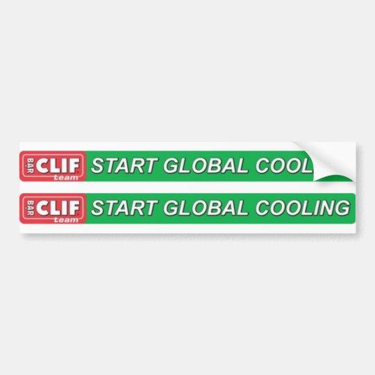 Start Global Cooling Top Tube Logo Bumper Sticker
