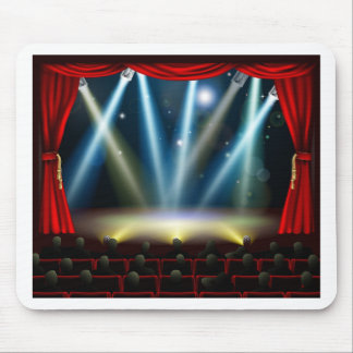 Start of amazing entertainment event mouse pad