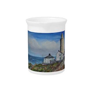 Start Point Lighthouse Beverage Pitcher