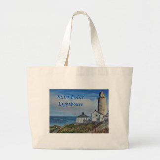 Start Point Lighthouse Large Tote Bag