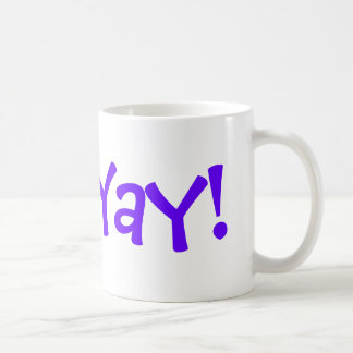 Start the day on with Appreciation! Basic White Mug