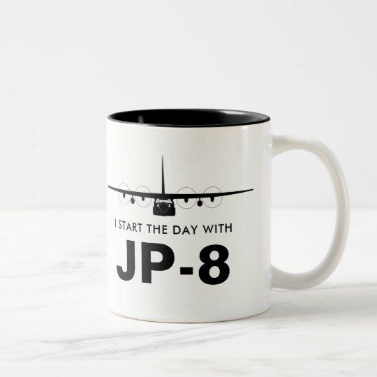 Start the Day with JP-8 C-130 Hercules Mug