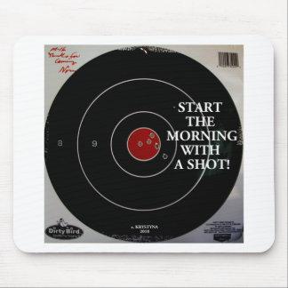 START THE MORNING MOUSEPAD