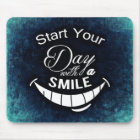 Start Your Day with a Smile Mouse Mat