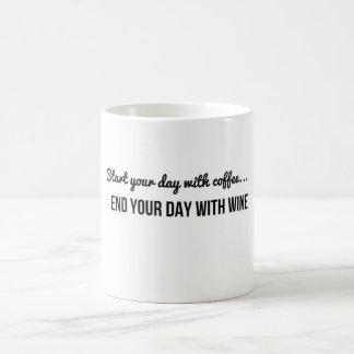 Start your day with coffee coffee mug