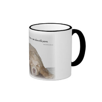 Start your day with your best friend ringer mug