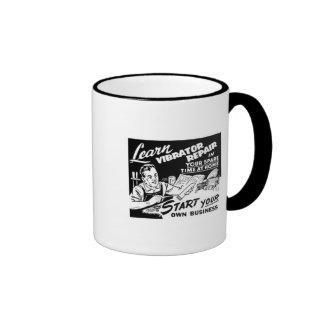 Start your own business! Vibrator Repair Ringer Mug