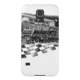 Starting Lineup Winged Sprint Cars Galaxy S5 Case
